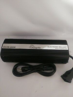 Hongville Hydroponic Digital Dimmable Electronic Ballast for HPS MH 600w