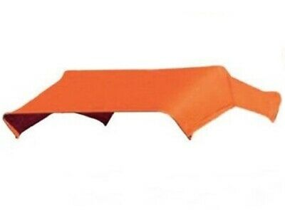 """405583 Orange Buggy Top Replacement Cover Only For 3 Bow 40"""" Umbrella Frame TBT3"""