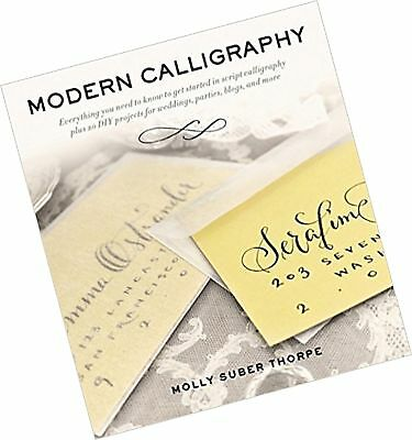 Modern Calligraphy By Molly Suber Thorpe New Paperback Softback