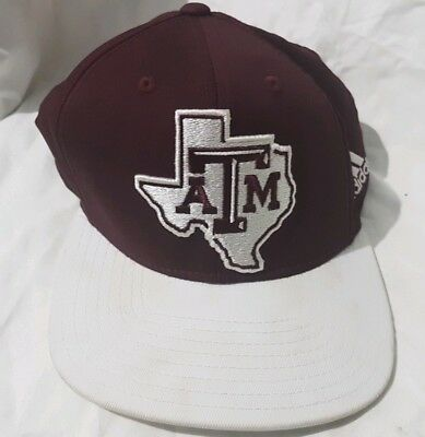 save off 34f29 e1ca7 ... low cost texas am aggies hat cap adidas snapback ncaa am burgandy  maroon 2fb1b d2233