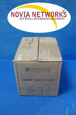 NEW - POWERVAR 61012-70R Power / Line Conditioner 1.0 AMP