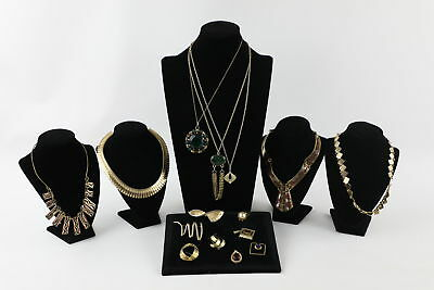 15 x Vintage Mid Century MODERNIST JEWELLERY inc. Statement Necklaces, Rings