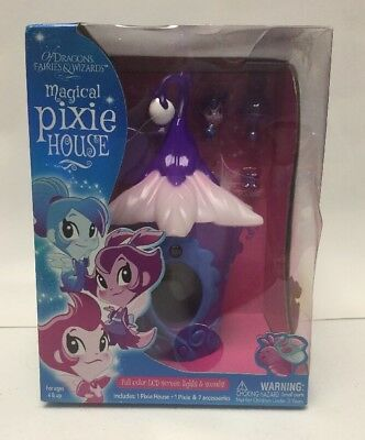 New, Damaged Box - Of Dragons, Fairies & Wizards Magical Pixie House