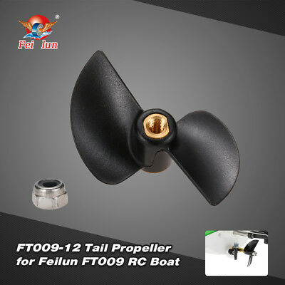 Feilun FT009-12 Tail Propeller Boat Spare Part for Feilun FT009 RC Boat V3F8