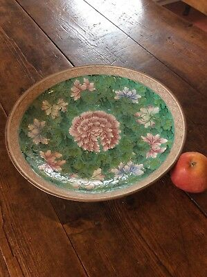 Famille Rose Charger Plate Stomeware Japanese ?