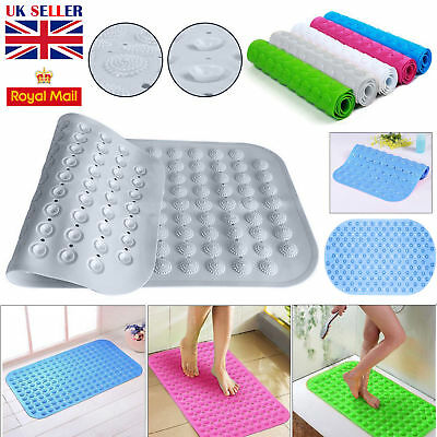 Large Strong Suction Non Slip Foot PVC Massage Rubber Bathroom Bath Shower Mat
