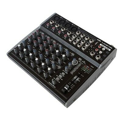 Sound Town Professional 12-Channel Audio Mixer USB Bluetooth DSP (Triton-A12BD)