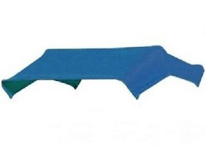 """405595 - Blue Buggy Top Replacement Cover Only For 3 Bow 48"""" Umbrella Frame JBT3"""