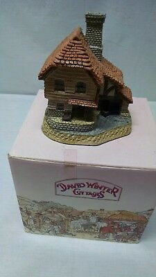 David Winter Cottages - The Boat House - Original Box -