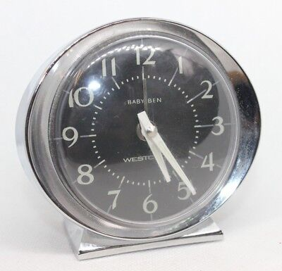 Vintage style Westclox Repeater Alarm Clock, Baby Ben reproduction china
