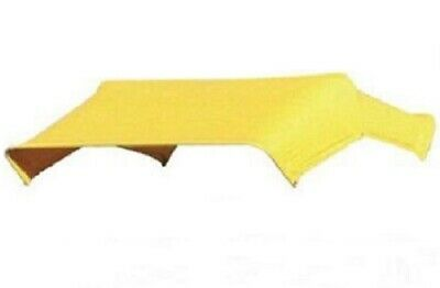 """405592 Yellow Buggy Top Replacement Cover Only For 3 Bow 48"""" Umbrella Frame JBT3"""