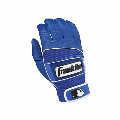 Franklin Sports Neo Classic Series Batting Gloves Royal/Royal X-Large