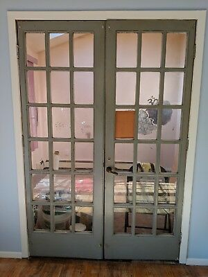 Vintage double doors from 1960 or 1970 pick up only