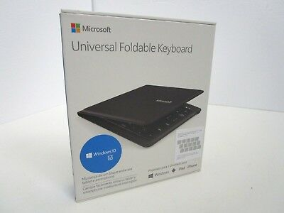 Microsoft Universal Foldable ***Spanish*** Keyboard for Tablet & Smartphone