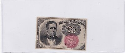 1874 10 Cents Fractional Currency Note FR# 1266