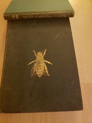 Antique - Webster - Book of Beekeeping + ABC XYZ of Bee Culture - Book - LOT