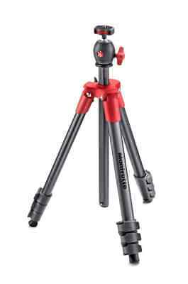 Manfrotto Compact Light Tripod -  Red  -   MKCOMPACTLT-RD  -  Limited
