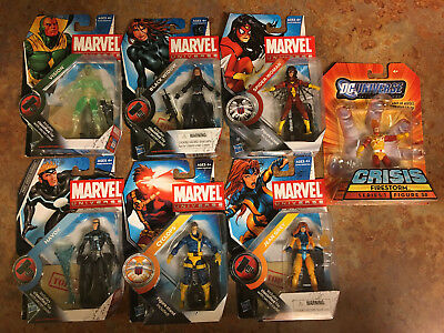 "Lot Marvel Universe Legends 3.75"" figures Cyclops Jean Grey Spider Woman Vision"