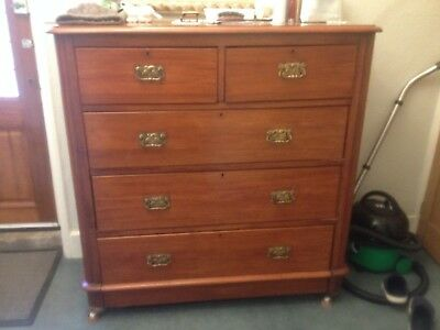 Large Mahogany VictorianChest of Drawers