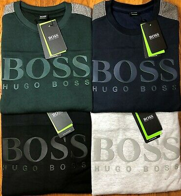 Hugo Boss Sweatshirt For Men 100% Cotton Pullover