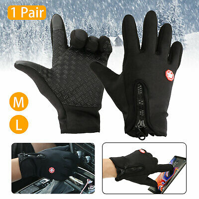 Full Finger Men Women Winter Thermal Touch Screen Gloves Outdoor Sport Driving