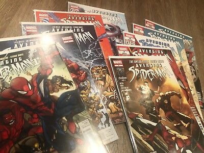 The Avenging Spider-Man (Issue1,2,3,4,5,6,7,8,9,10 first print) Very Good Condit