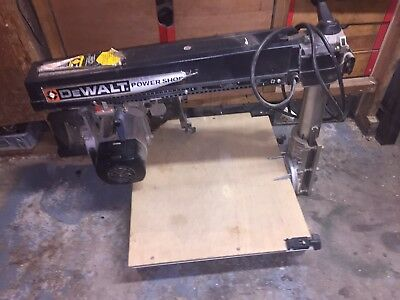 Dewalt Powershop Radial Arm Saw Model DW1201
