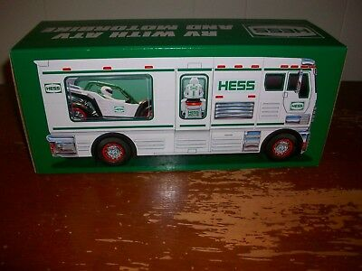 2018 Hess Toy Rv With Atv And Motorbike(New In Box)
