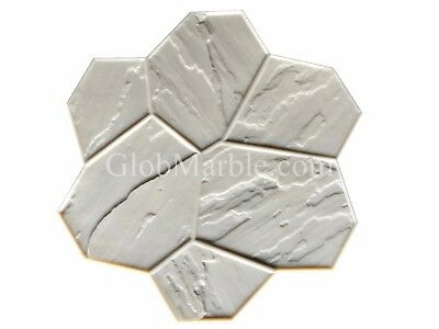 Concrete Stamp Flex Floppy Mat Form SM 1901/4 Decorative Concrete Random Stone