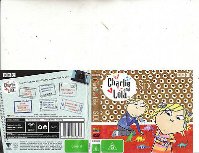 Charlie and Lola-Six-2007-[6 Episodes-71 Minutes]-Animated CAL-DVD