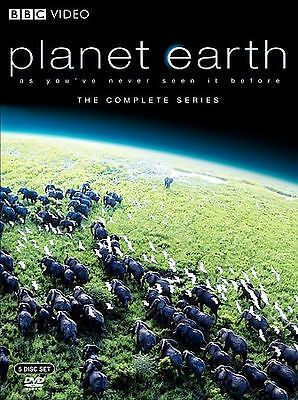 Planet Earth: The Complete BBC Series, Very Good DVD, David Attenborough,