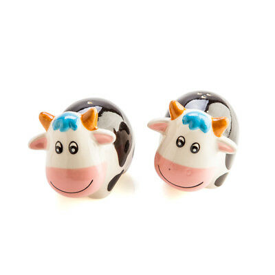 Cow Salt & Pepper Set Cute Novelty Collectible Funny Christmas Gifts Free Shipp