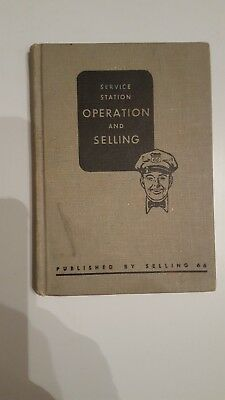 Phillips 66 Service Station Operation And Selling Book - Rare