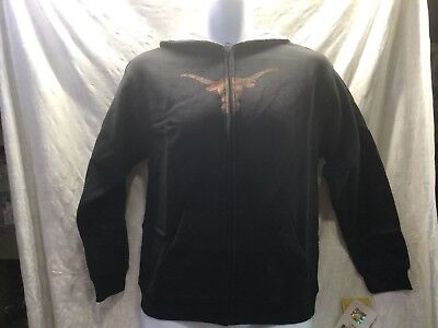 Reebok Team Apparel College Texas long horns Zip Up Hoodie               INV#4-H