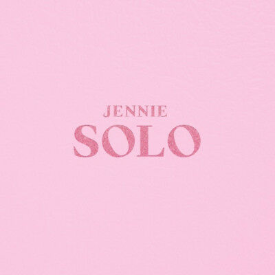 BLACKPINK JENNIE [SOLO] PHOTOBOOK. CD+PhotoBook+PhotoCard+PostCard+etc K-POP