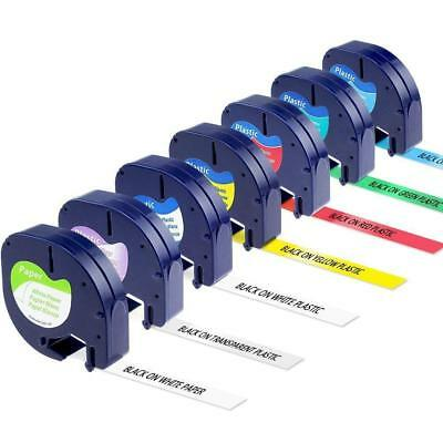 91330 331 332 333 334 335 16952 Label Tape Mixed colors Compatibel for Dymo 12mm