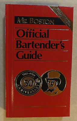 1984 First Print 50Th Anniversary Edition Mr. Boston Official Bartender Guide