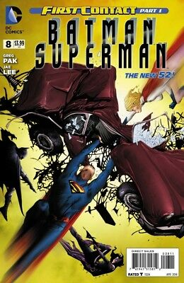 Batman/Superman #8 DC Comics