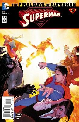 Superman #52 First print - Final Days of Superman