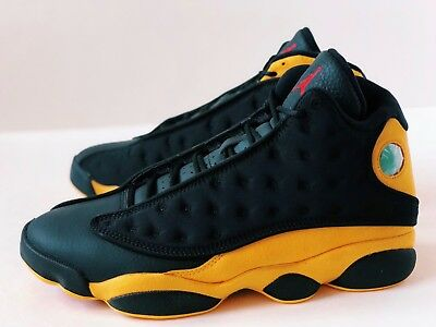 the latest 27a7b eb8f6 NIKE AIR JORDAN 13 [Sz 13] Melo Class Of 2002 Yellow Black Xiii Retro  414571-035