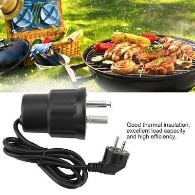 Electric BBQ Roast Rotisserie Grill Motor Rotator Outdoor Barbecue Tool 110/220V