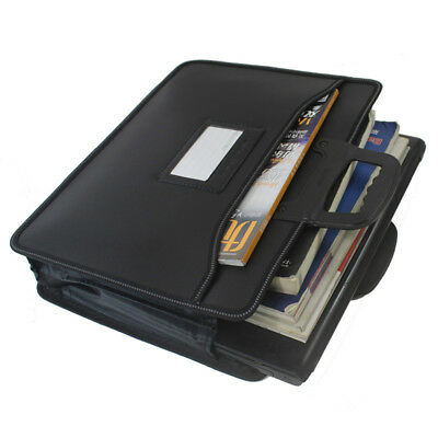 Portable Business A4 File Document bag Drawing Painting Storage Folder Carry Bag