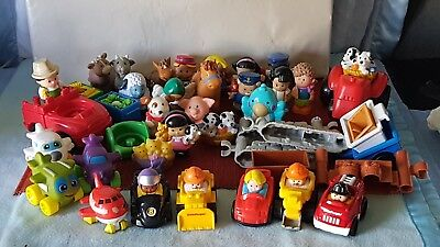 Wonderful Huge Lot Of Little People (Mostly) & Accessories.great Condition.