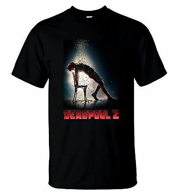 Neu !!! Deadpool 2 T Shirt New Marvel Film 2018 T shirt S - 5 XL Mann - Frauen
