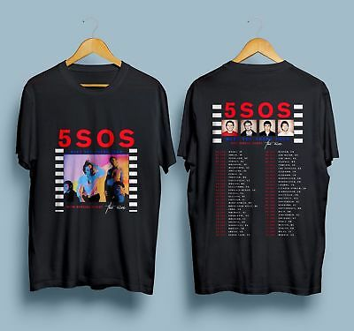 5 Seconds Of Summer 5SOS Meet You There Tour 2018 T shirt S - 5 XL Mann - Frauen