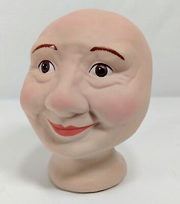 Doll Making Porcelain Doll Head Old Lady Crafting Supplies