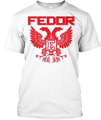 Neu Long-lasting Fedor Emelianenko Russian Eagle T shirt S - 5 XL Mann - Frauen
