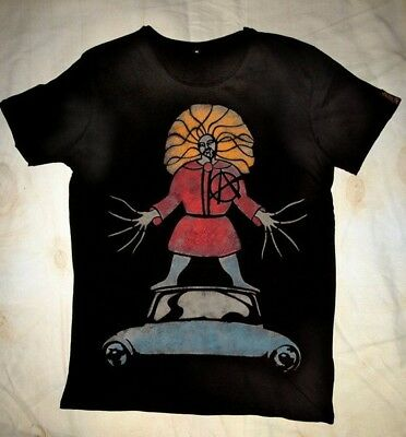 Neu Struwwelpeter A German Anarchist. Street Art  T shirt S - 5 XL Mann - Frauen