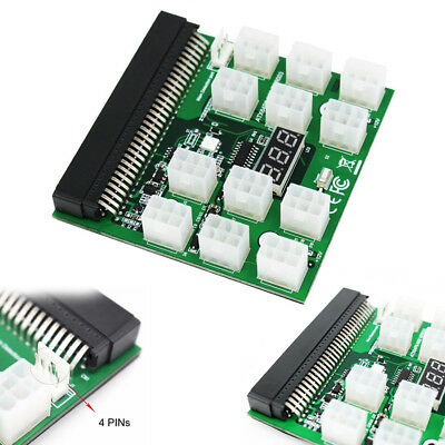 HP ETH Computer Supplies Breakout Board for GPU 12pcs Cable Mining Ethereum RM6