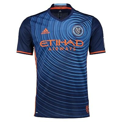 Adult M New York City FC Authentic Away Shirt 2016-17 M44